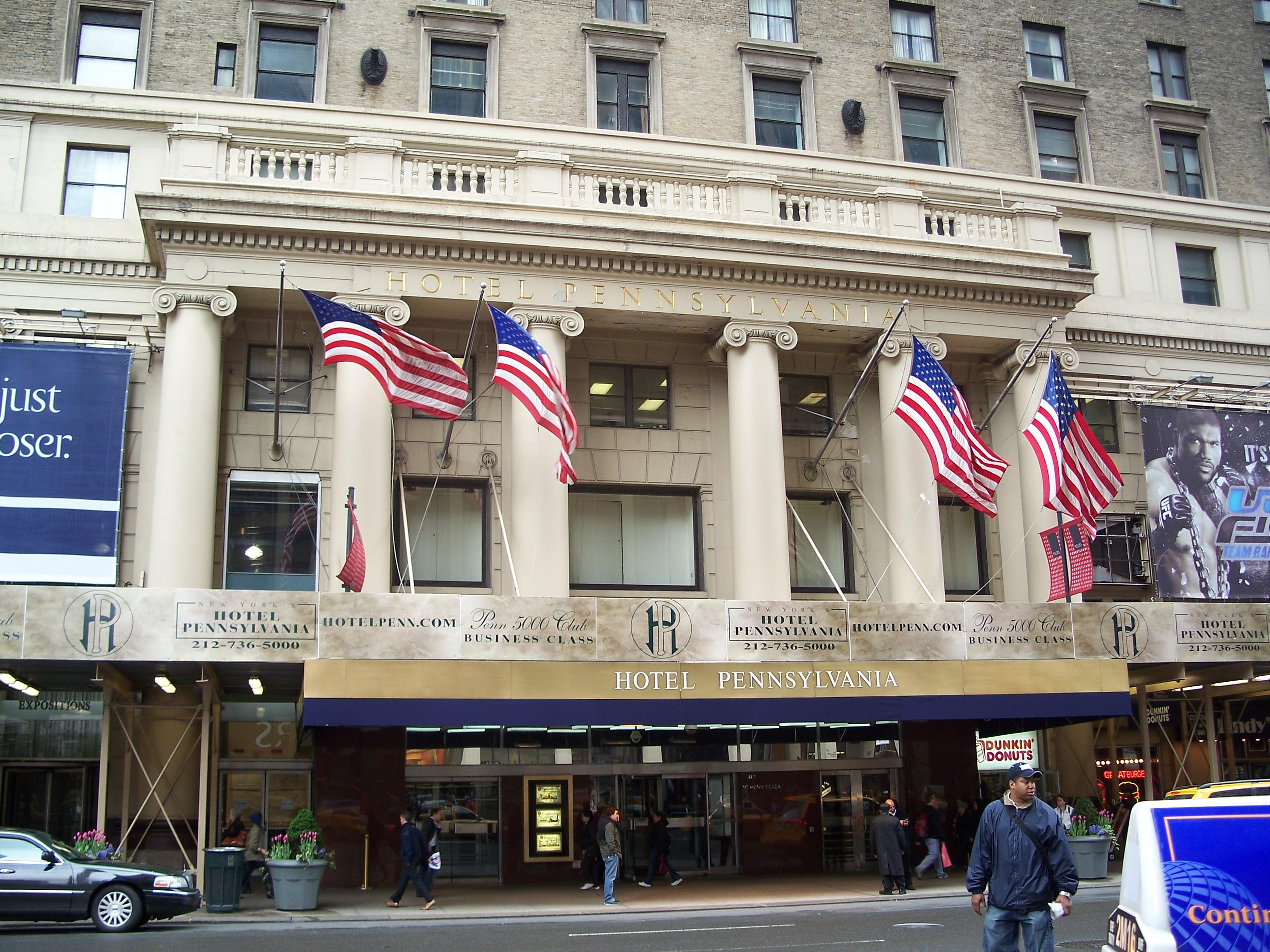Photo Taken By Http Michaelminn Newyork Areas Midtown Hotel Pennsylvania Index Html